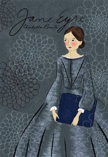 needle book: Jane Eyre cover