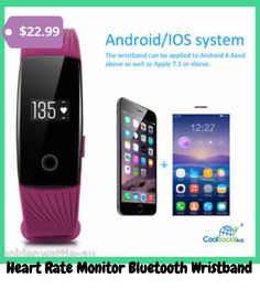 Heart Rate Monitor Bluetooth Wristband  for more details visit http://coolsocialads.com/heart-rate-monitor-bluetooth-wristband--50403