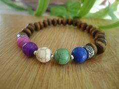 FREE SHIPPING Bracelet.Unisexs  Beaded Bracelet by SmyrnaJewelry