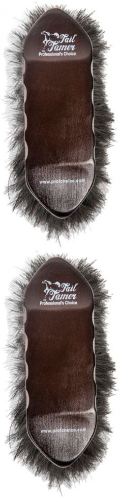 Grooming Brushes 183399: Professionals Choice Brush Long Bristles Horse Hair 6 Pack Brown W220 -> BUY IT NOW ONLY: $82.99 on eBay!