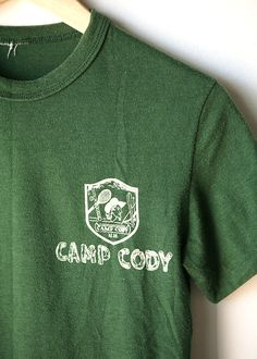 camp t-shirt - small front