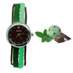 Mint Chocolate Chip Watch, $43, now featured on Fab.