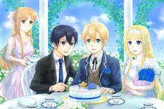 Online Anime, Online Art, All Anime, Manga Anime, Eugeo Sword Art Online, Sao Fanart, One Punch Anime, Hatsune Miku, Original Art