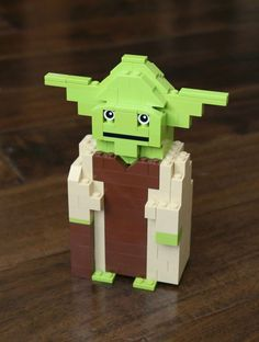 LEGO Star Wars Yoda Building Instructions