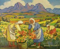 """""""Flower Pickers"""" Hannes  van der Walt"""