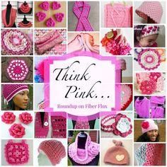 40 Free Breast Cancer Awareness #Crochet Patterns | STOP searching and START making. CrochetStreet.com