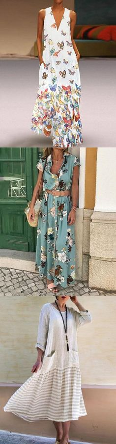 """SHOP Style Hot Summer Dresses for Your Choice! - Style Hot Summer Dresses for Your Choice!""""> SHOP Style Hot Summer Dresses for Your Choice! Office Outfits Women, Office Fashion Women, Mode Outfits, Maxi Dress Summer, Boho Summer Outfits, Summer Dresses, Boho Fashion, Fashion Dresses, Womens Fashion"""