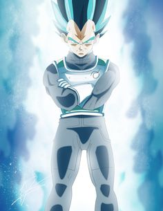 Super Saiyan Blue Vegeta by BlueAlacrity Dragon Ball Z, Gogeta Ss4, Dragonball Super, Cartoon N, Dbz Vegeta, Db Z, Dc Anime, Z Arts, Super Saiyan