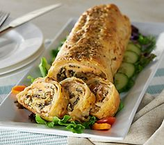 H. Forman & Son 1.9 lb. Puff Pastry Stuffed with Scottish Salmon