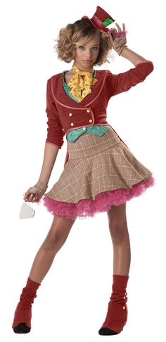 Mad Hatter Teen Costume - Alice in Wonderland Costumes Kayla's costume this year...