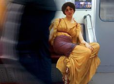 Alexey Kondakov inside the metro