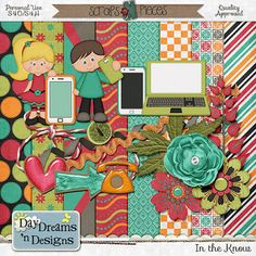 FREE In The Know-newsletter freebie by Day Dreams n designs