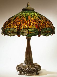 Tiffany Dragonfly Library Lamp By Louis Comfort Tiffany U2013