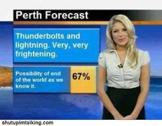 via Shut Up Im Talking | a very musical weather forecast <3