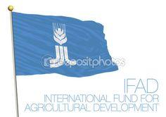 Nazioni Unite, International Fund for Agricultural Development Ifad bandiera —…
