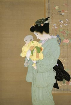 Uemura Shōen, Mother and Child, 1934, The National Museum of Modern Art, Tokyo