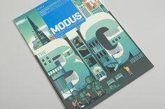 Modus Magazine Cover by Jing Zhang, via Behance