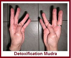 Hand Mudras for Helping Detox Body balancedwomensblog.com