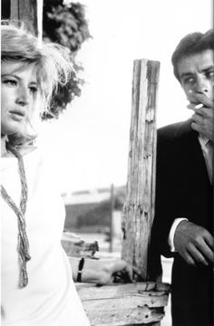 Alain Delon & Monica Vitti