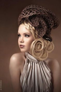 Simply gorgeous hair and makeup.