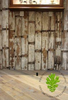 "Wilsons Yard - Authentic Georgian beaded wallboard 5"""