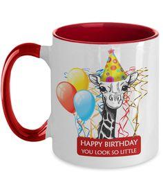 Funny Giraffe Birthday Mug for Her   Funny Birthday Gift for Daughter Sister Mom   Funny Best Friend Birthday Gift   Funny 60th Birthday Gifts, Special Birthday Gifts, Friend Birthday Gifts, Happy Birthday, Funny Teacher Gifts, Funny Gifts, Anniversary Funny, Anniversary Gifts, Giraffe Birthday