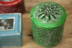 Caixa Flor Verde | A Loja do Gato Preto | #alojadogatopreto | #shoponline