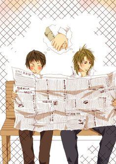 Tackey and Tsubasa by donotbotherme on @DeviantArt