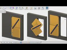 Fusion 360 beginners tutorial   Klemens torggler door concept   - YouTube