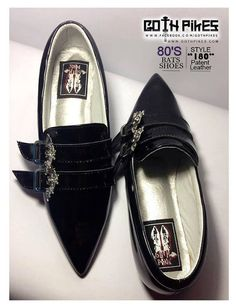 Coffin Kitsch: Kitsch Picks: Winklepicker Shoes by Goth Pikes