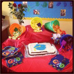 Preschool Graduation party.