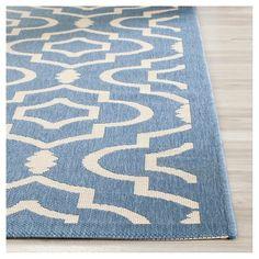 5u0027x7u0027 Outdoor Rug   Aqua Tile   Threshold™ | Outdoor Rugs, Outdoor Spaces  And Balconies