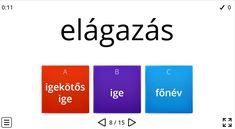 Igekötős igék - Nyelvtan 3. osztály FELADAT - Kalauzoló - Online tanulás Bar Chart, Bar Graphs