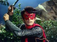 Masked Ninja Red Shadow Tokusatsu