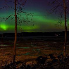 The Northern Lights in Minnesota Photo credit: @russ.man #OnlyinMN