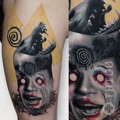Monika crazy tattoo Tribo Prague
