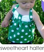 This site has a ton of sewing tutorials for babies and toddlers.