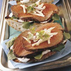 {BBQ GRILLING #BBQ #Grilling Hot Tenderloin Sandwiches}  #grillingbbq