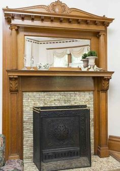 Tile Around Fireplace In 1897 Victorian