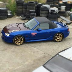 Another NB Miata MX5 from Russia | #TopMiata #mazda #miata #mx5 #eunos #roadster