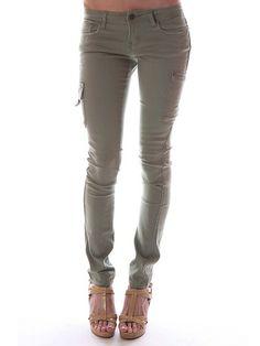 ReFashion Military Pant. Like #calvinklein #bebe #guess.