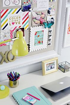 Pretty study space