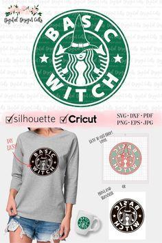 fc822441 Basic Witch SVG, Starbucks Logo SVG, Basic Bitch Starbaks, DIY Halloween  Shirt, Halloween svg, Witch svg, Witch Iron-on, Witch Shirt