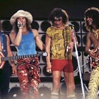 On this day in 1984, the original lineup of Van Halen—Michael Anthony, David Lee Roth, Eddie Van Halen, and Alex Van Halen—played their very last show together. Five 'Monsters of Rock' Festival dates in Europe were to be their last shows of their massive 1984 tour. Those festival dates