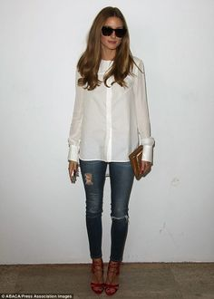 The Olivia Palermo Lookbook : Paris Fashion Week : Olivia Palermo at Veronique…