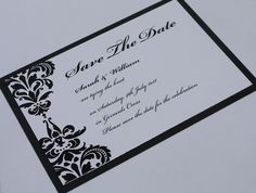Beautiful black and white design from Kathryn Deeley