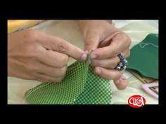 Maçã em Tecido por Jackie Lobato   Sabor de Vida Artesanatos - 07 de Agosto de 2012 - YouTube