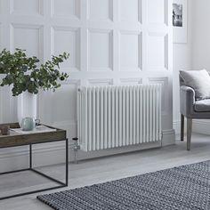 The 7 best radiators images on pinterest milano windsor traditional white 4 column radiator 600mm x 990mm horizontal freerunsca Images