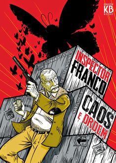 Leituras de BD/ Reading Comics: Lançamento Kingpin Books: Inspector Franco - Caos ...