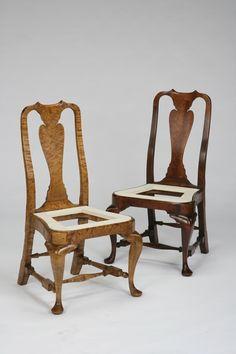 Massachussetts Queen Anne Chairs